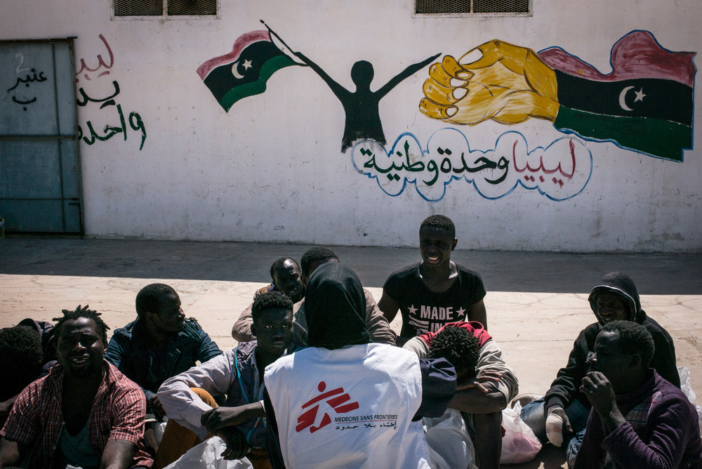 #Libya Médecins Sans Frontières/Doctors without Borders .@MSF has returned to work in #Tripoli detention centres almost 3 months after we suspended medical activities in these centres following a series of concerning incidents.