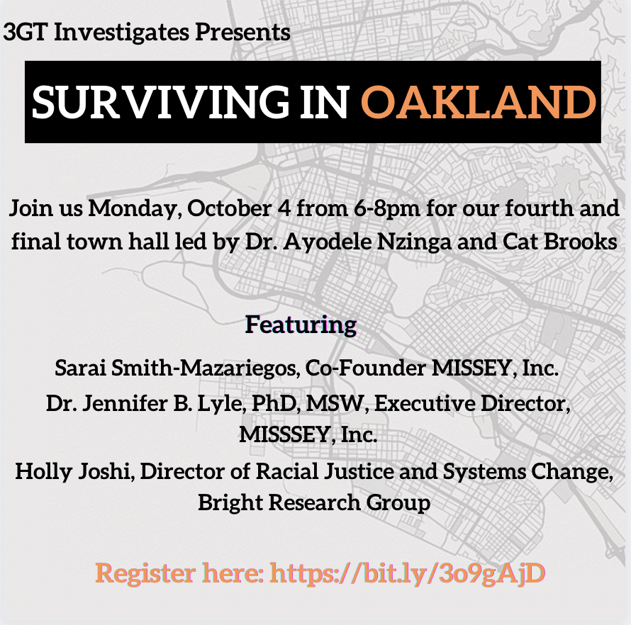 Surviving in Oakland - Town Hall