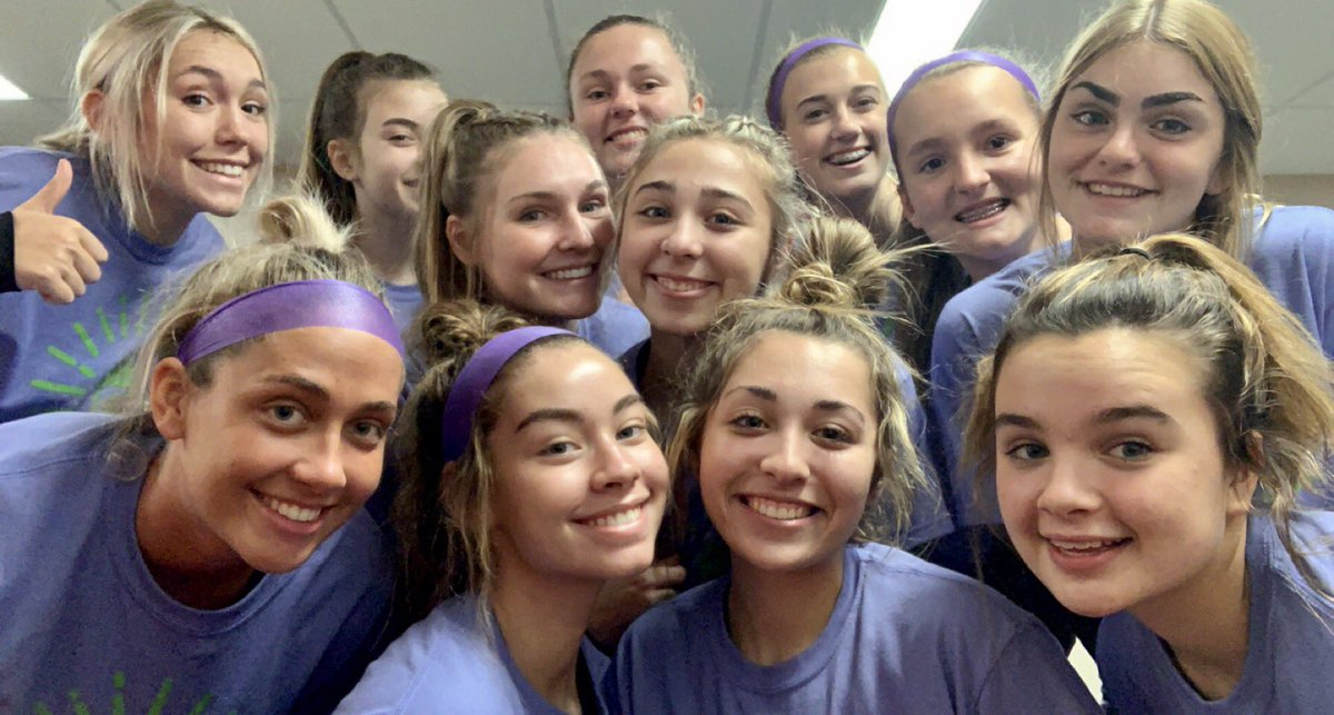 Thank you Anderson Volleyball for raising awareness and supporting mental health!