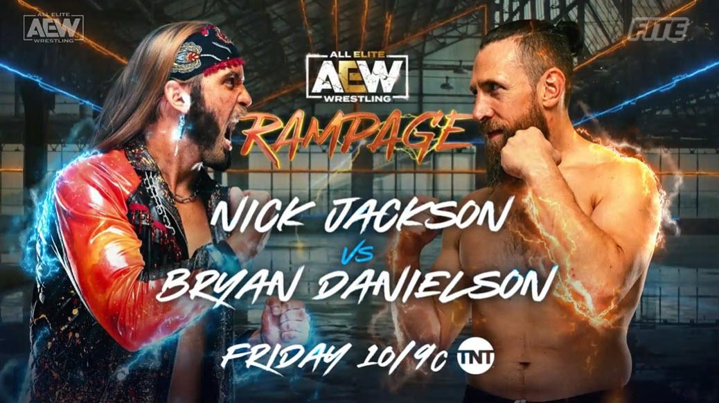 Bryan Danielson Vs Nick Jackson Announced For AEW Rampage