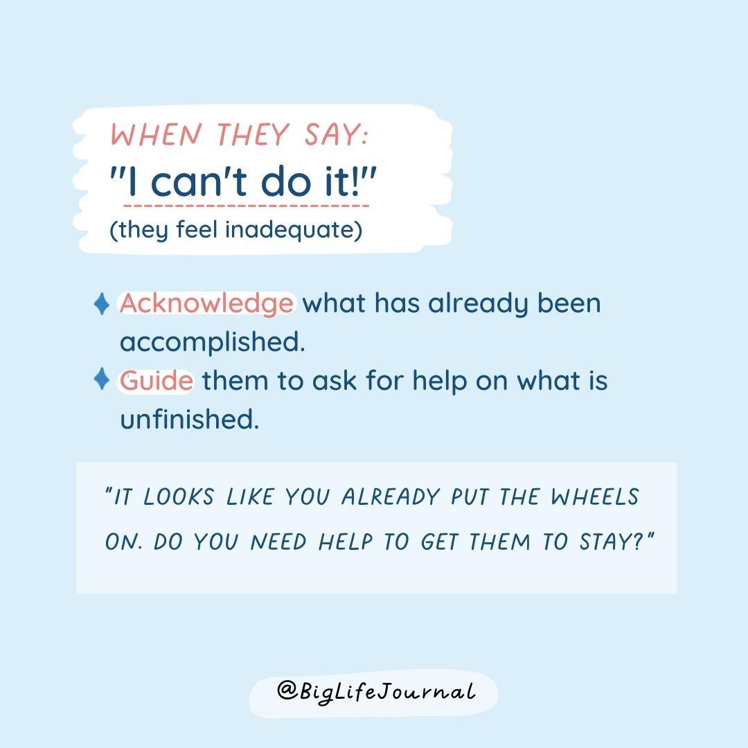 RT @biglifejournal :お子さんのネガティブなセルフトークに対応する方法https://t.co/46l46lloFB