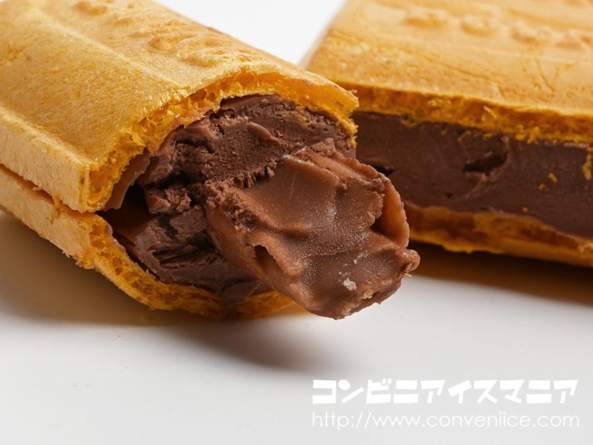 ブルボン『ルマンドアイス チョコレート』!サクサクのミニルマンドが入っている!