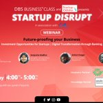 Image for the Tweet beginning: ONE DAY TO GO! DBS Business