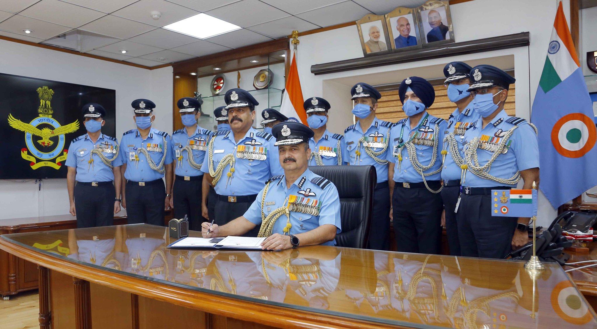 Air chief VR Chaudhari