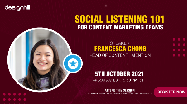 Wondering how social listening can be used to add value to your content marketing strategy? Mention's very own Head of Content Francesca Chong will be hosting a workshop this Tuesday over at @Designhilldh.   Grab your spot now ⏩ https://t.co/6Vxdtsl241 https://t.co/Gf5sVxoMzm