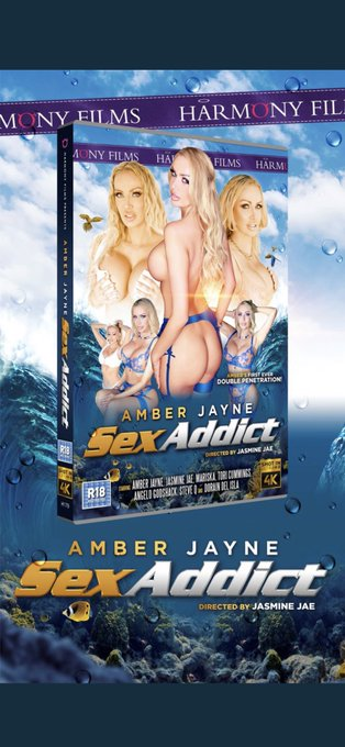 """A big shout out to all the production crew who made @harmony_films """"Amber Jayne Sex Addict"""" happen.  @jasminejaexxx"""