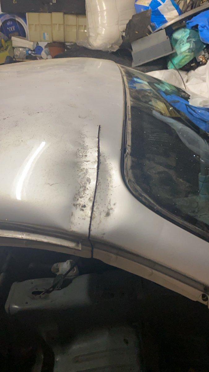 自分の愛車が盗難後にめちゃくちゃな状態。犯人捕まるがこれはつらい・・・。
