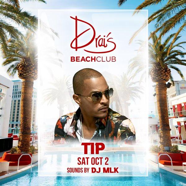 Las Vegas !!!! We're going 🆙 this weekend @DraisLV + @draisbeachclub … @DJMLK TURN IT!