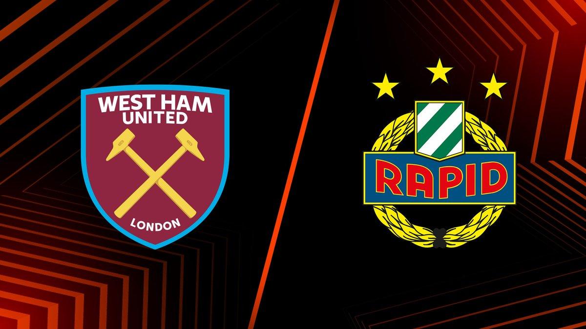 West Ham vs Rapid Vienna Highlights 30 September 2021