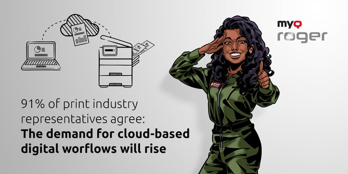 Twitter - 81% respondents expect a higher demand for cloud-b