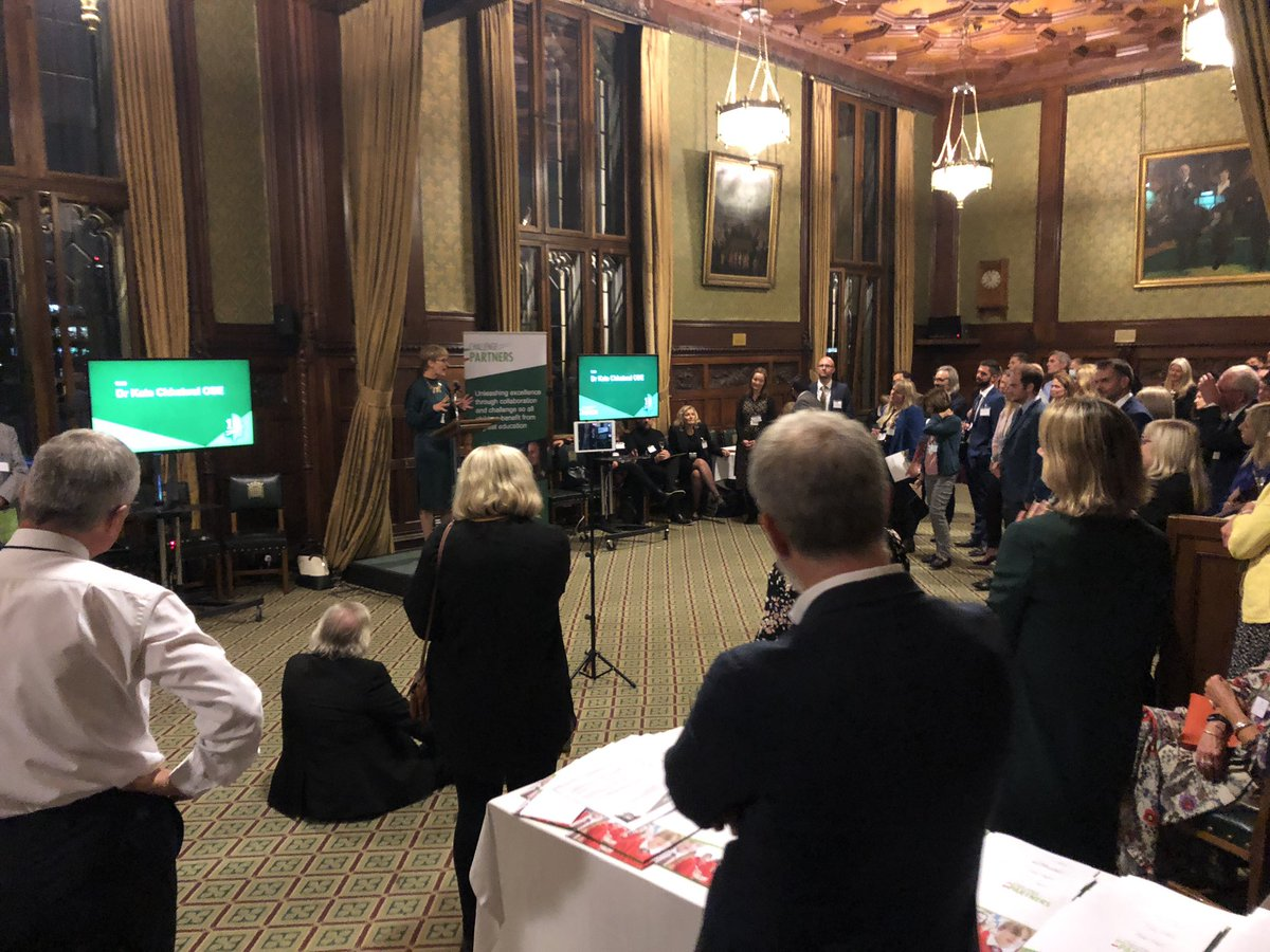 Tonight as part of our 10th Anniversary celebration we bring together some of our network of partners who through exchanging knowledge and sharing best practice help children in our education system flourish. https://t.co/Ps3PJxryNw