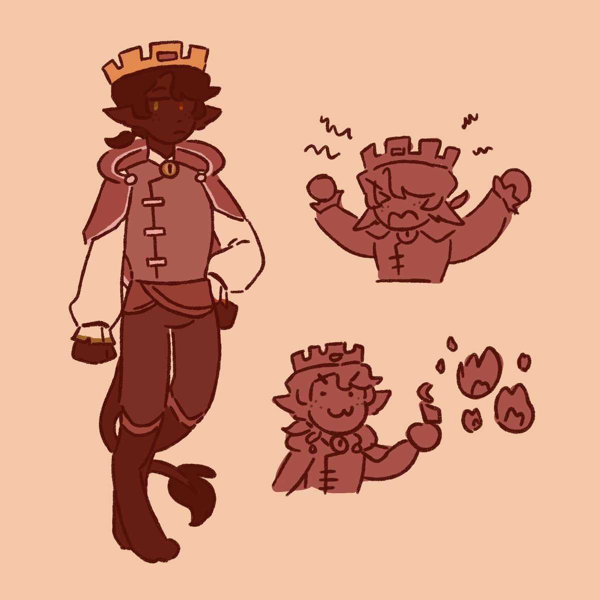 the other design i did wasn't prince-like enough, so here's an updated version of osmp!ranboo :D #ranboofanart https://t.co/jamHuybRtc