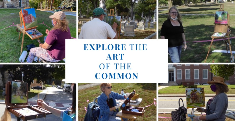 Looks like great weather this weekend for art on the Common! Come check it out! Free for all! 🎨🖼