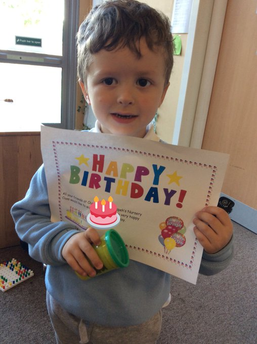 Happy birthday to our big boy    we hope you had a super day