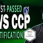 Image for the Tweet beginning: Passed my AWS CCP cert