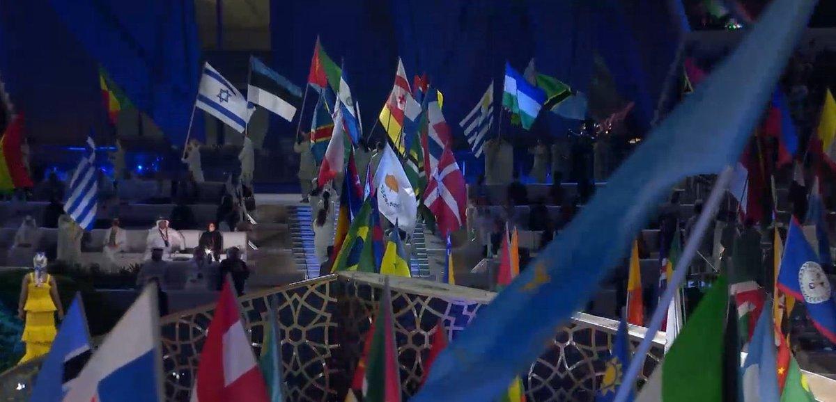 العلم الاسرائيلي يرفرف في افتتاح معرض Expo2020 اكسبو دبي !  …