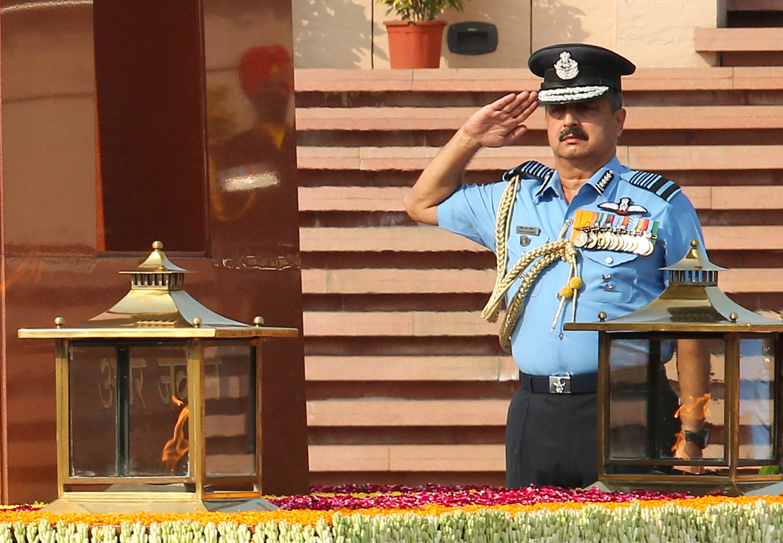 IAF chief VR Chaudhari