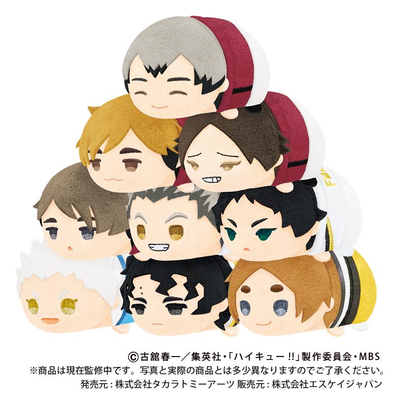 【新商品情報】「もちもちマスコット ハイキュー!! vol.5」全9種、定価880円(税込)1BOX9個入り、10月5日(火)よりご予約開始!ご予約開始までもう少しお待ちくださいませ!なの☆ #もちもちマスコット #hq_anime