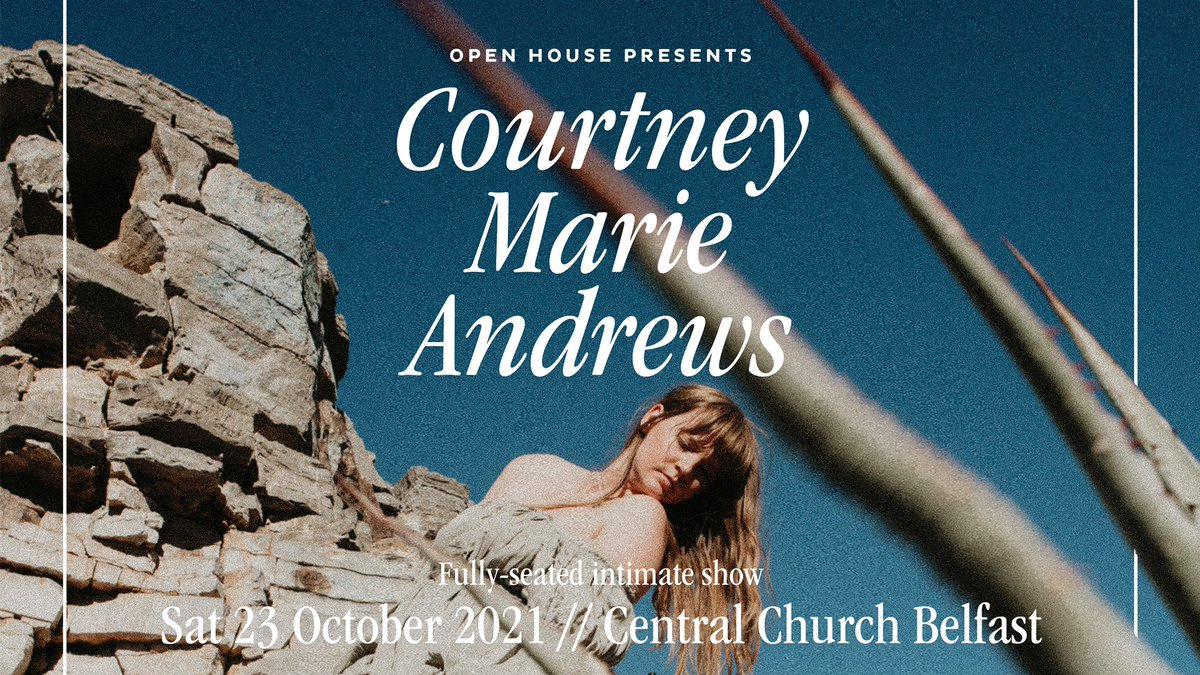 Our first indoor concert in almost two years will take place later this month with the wonderful Americana singer/songwriter @courtneymamusic. Tickets are available from openhousefestival.com/year-round-sho…