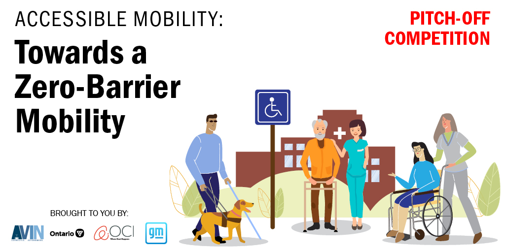 Great news! We've extended the deadline to register for the Accessible Mobility Pitch-Off Competition. Sign up by November 1 and present your barrier-free mobility solution! For more information and to register visit: https://t.co/uxkmbiVWI9 #AVIN
