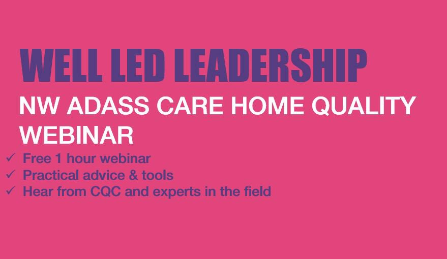 test Twitter Media - Join us next Thursday 7th Oct for our penultimate quality webinar in the series. Hear from #CQC whilst exploring the available support offer for Care Home Leadership!  https://t.co/BDschGncYG https://t.co/HkyjOEHFxB