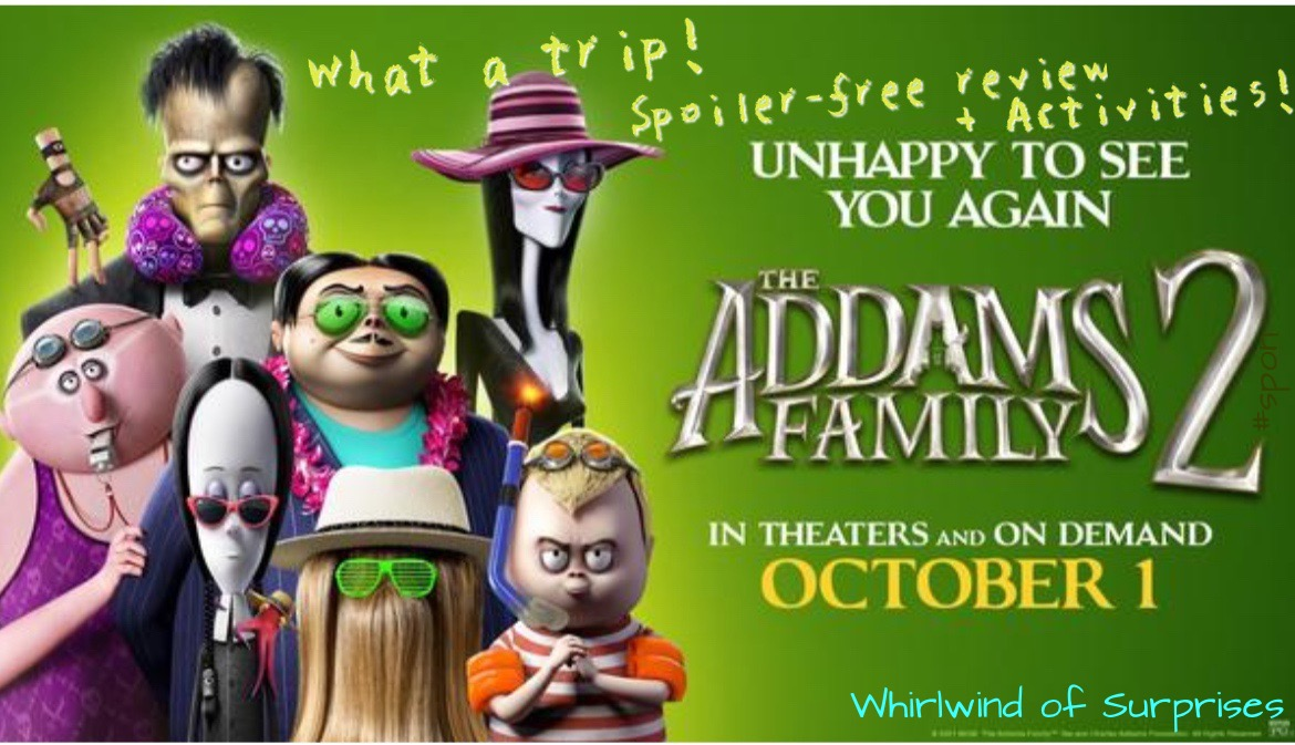 The Addams Family 2 Review and Activities