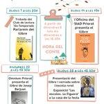 Image for the Tweet beginning: La @Bibliofalset presenta les activitats