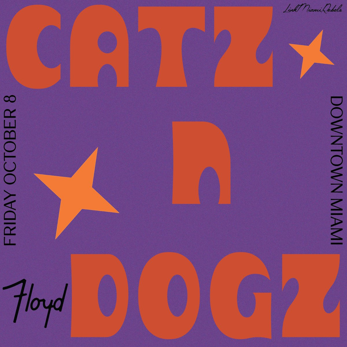 Musically speaking, it's going to be raining @Catz_n_Dogz Friday, October 8th eventbrite.com/e/176645049097