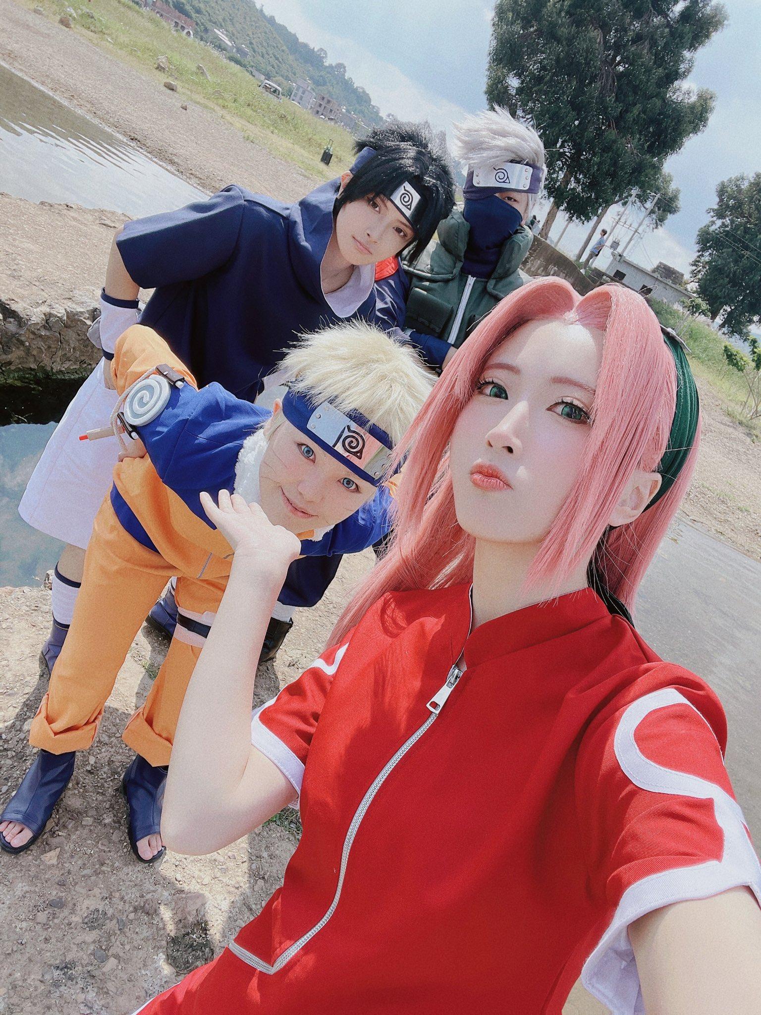 naruto sasuke sakura cosplay