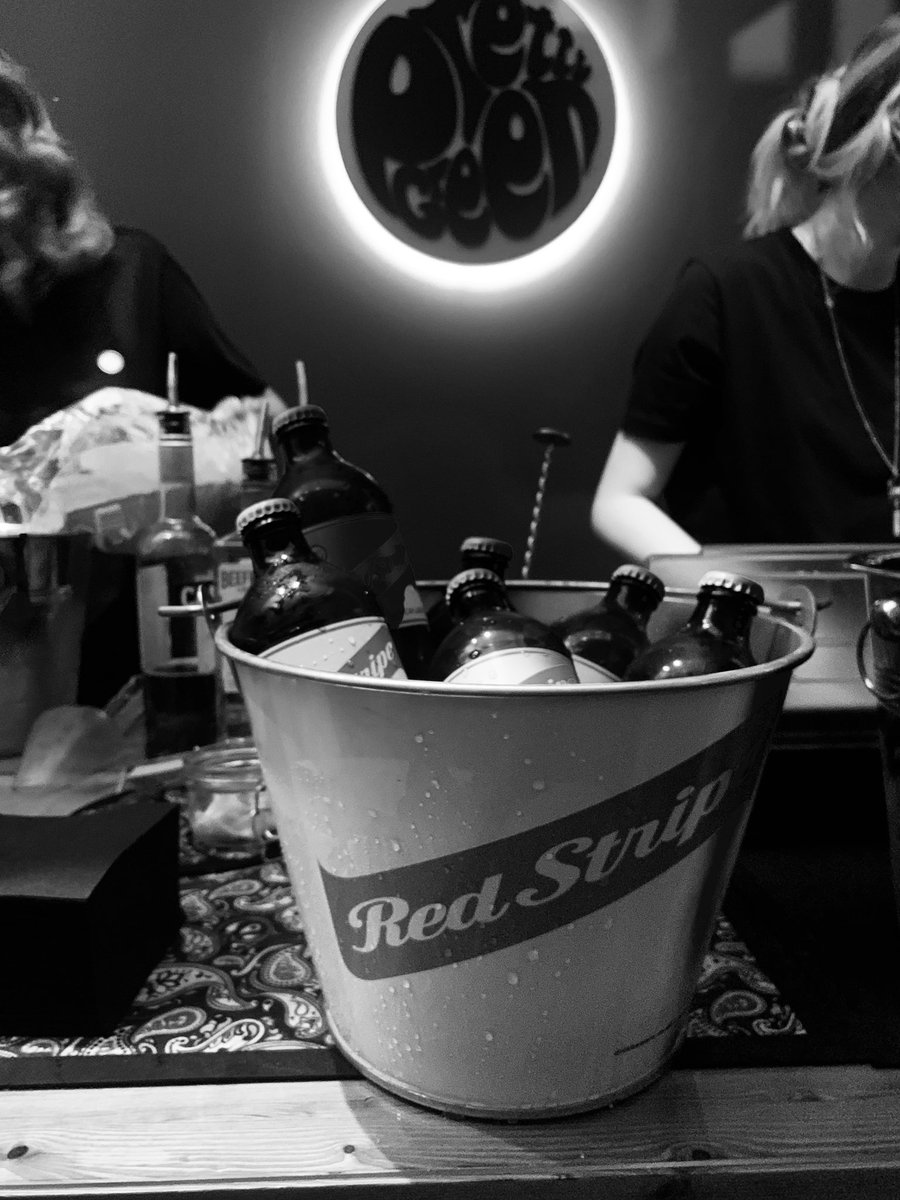 Absolutely…. Music, Fashion & @redstripeuk DONE ✅
