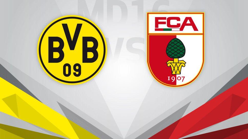 Dortmund vs Augsburg Full Match & Highlights 02 October 2021