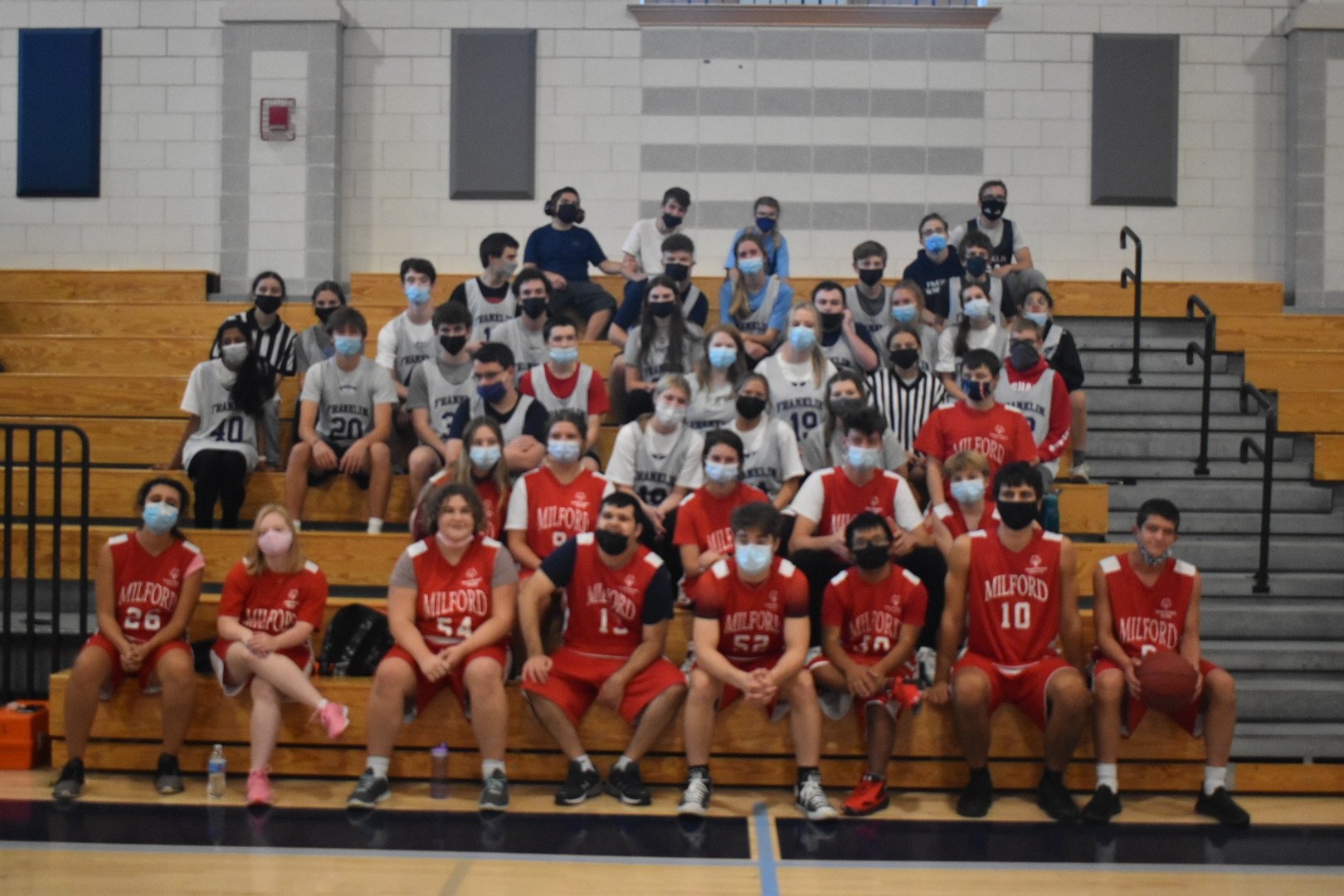 We are the Unified Athletic Teams of Franklin High School. We are proud members of the Special Olympics Unified Champion School Program.