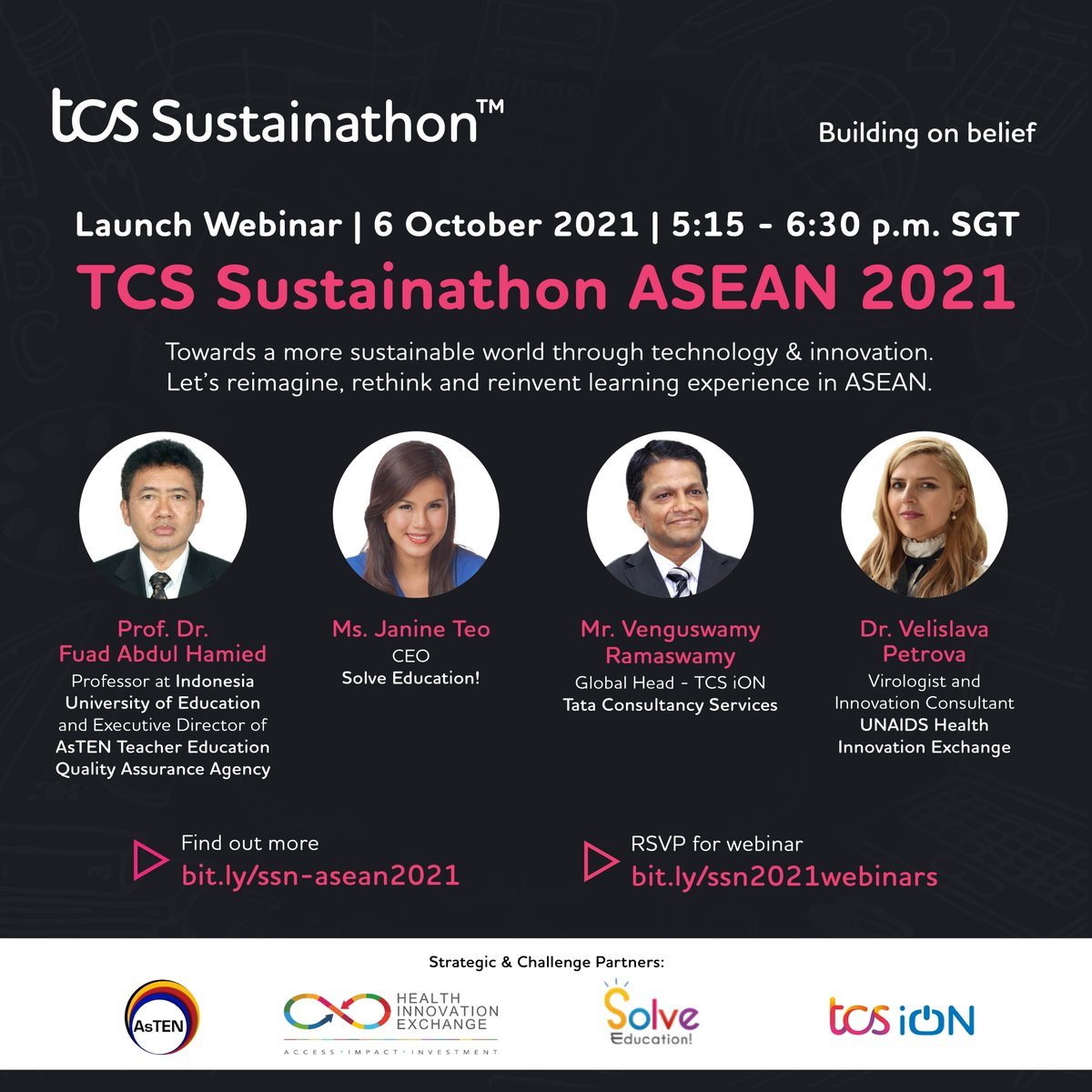 Join @veli_pet of @UNAIDSinno and this fantastic panel to discuss #sustainability & #technology Oct. 6th https://t.co/yy0pMjBvu7