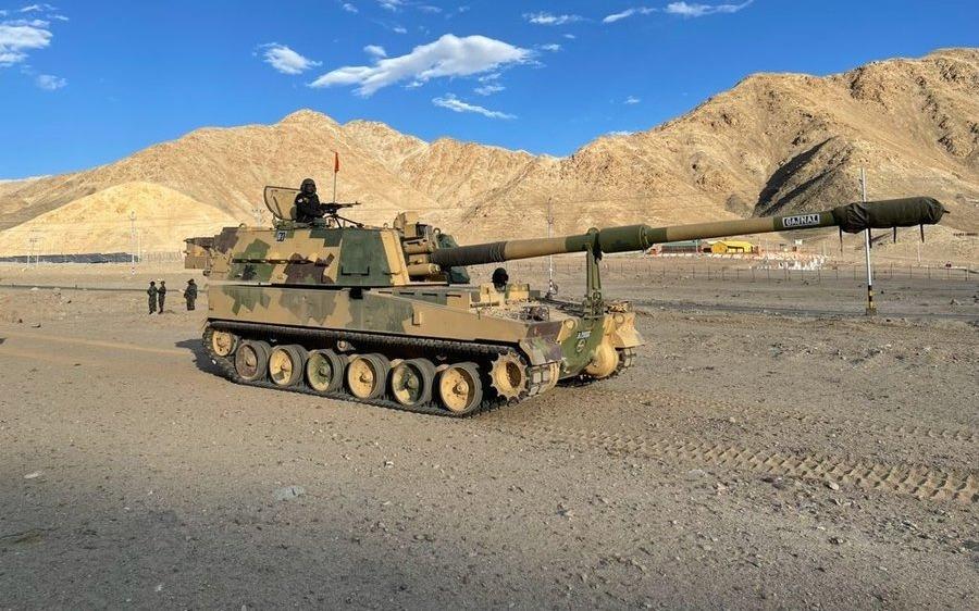 K-9 Vajra self-propelled howitzer