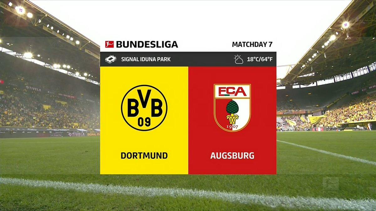 Full match: Borussia Dortmund vs Augsburg