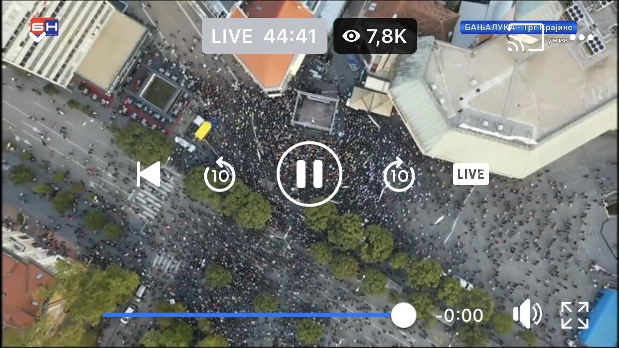 Gradonacelnik Banja luke:'Ovo je ustanak protiv Dodika' FAtSZsLXoAI2wzA?format=jpg&name=large