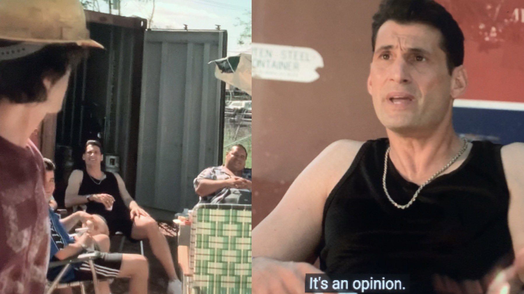 Eugene Pontecorvo is asking Finn DeTrolio for his opinion.