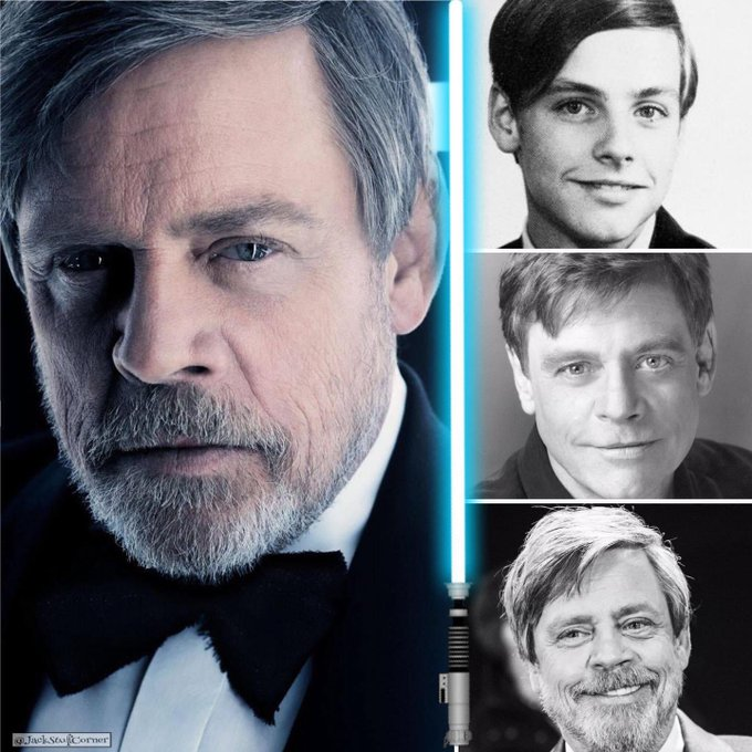 Happy 70th Birthday to the legendary Jedi knight - Mark Hamill May the Force be with You...Always