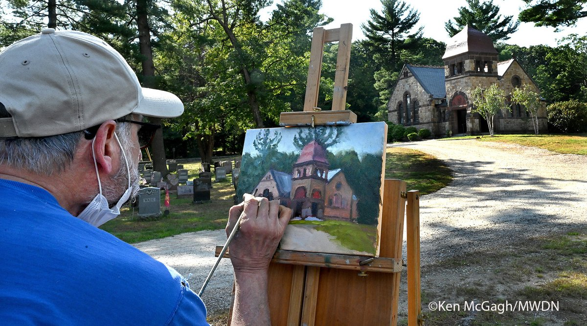 Thank you, Ken! What a beautiful day and amazing artwork!🎨