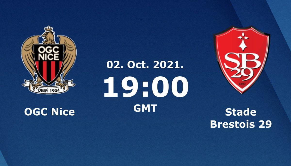 Nice vs Brest Highlights 02 October 2021