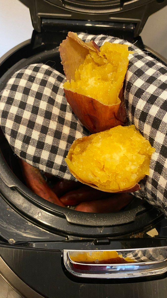 これはまた画期的⁉炊飯器で作る焼き芋‼これは美味そう‼