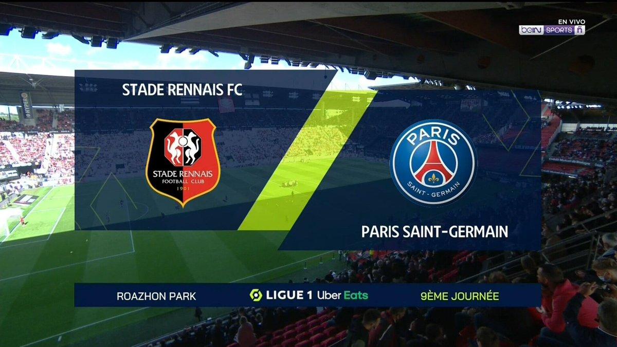 Full match: Rennes vs PSG