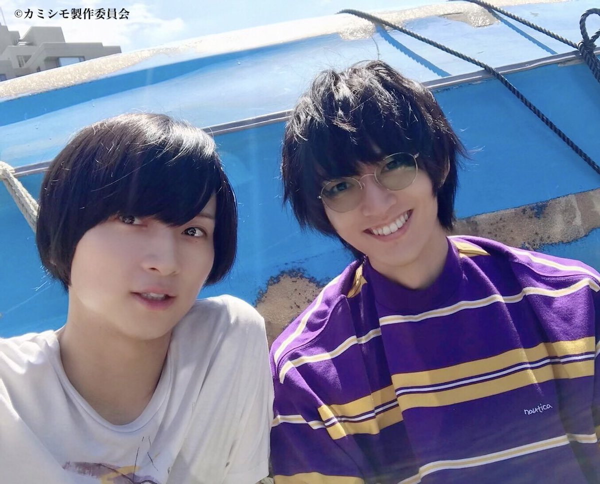⚡️10/5(火)電波ジャック決定‼️⚡️ エクソダス(荒牧慶彦&和田雅成)の2人が日本テレビの下記番組に出演いたします!  ・ZIP! ・スッキリ ・バゲット ・ヒルナンデス! ※生放送のため、急遽予定が変更になる場合があります。  #カミシモ について見所をたっぷりご紹介します‼️ぜひチェックしてください✨