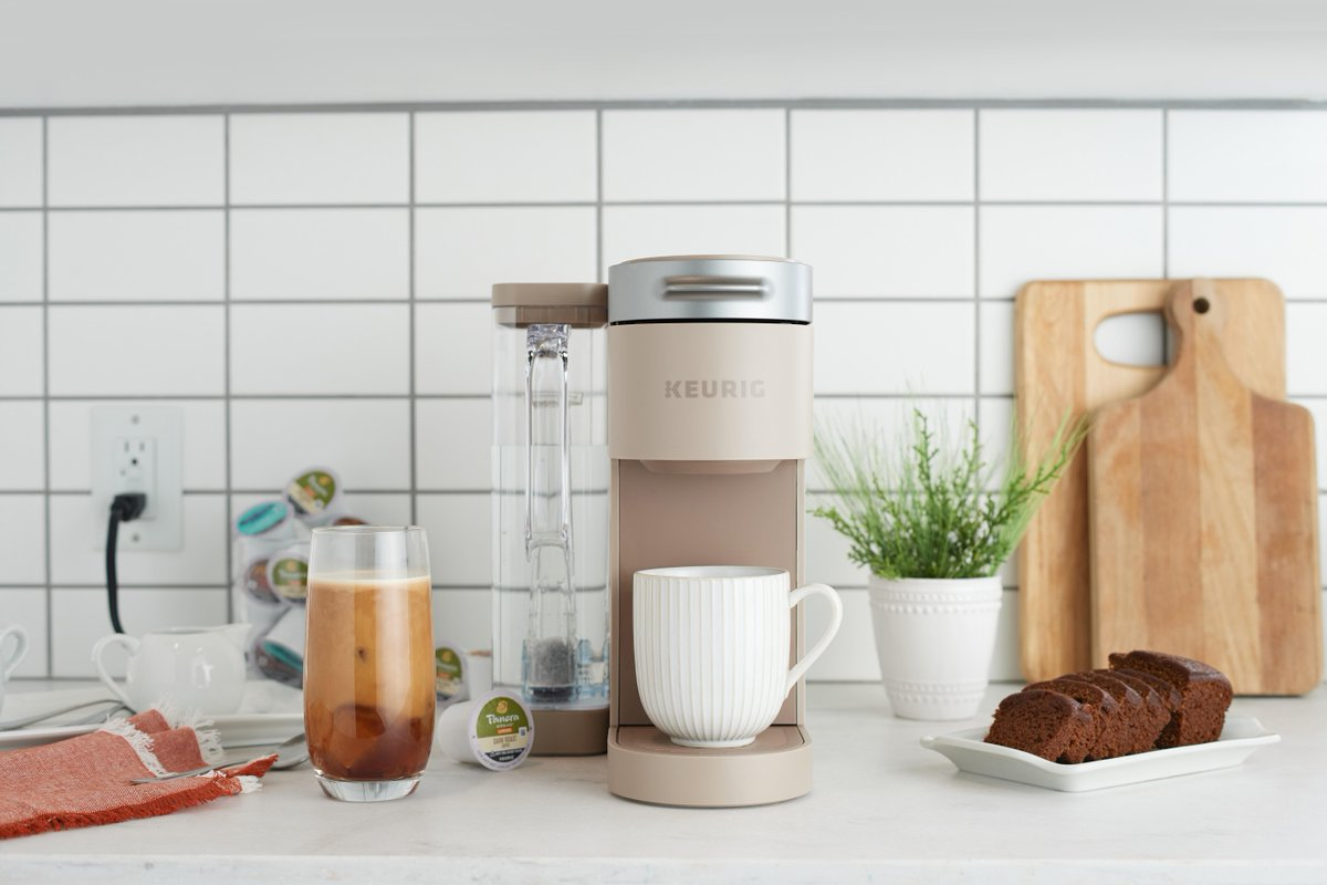 Tune into @QVC today (10/3) to elevate your coffee experience with our K-Supreme brewer, 60 K-Cup pods and a My K-Cup Universal Reusable Filter for $99. And only on QVC can you get the K-Supreme in this Cappuccino color! qvc.co/3zZ8sES