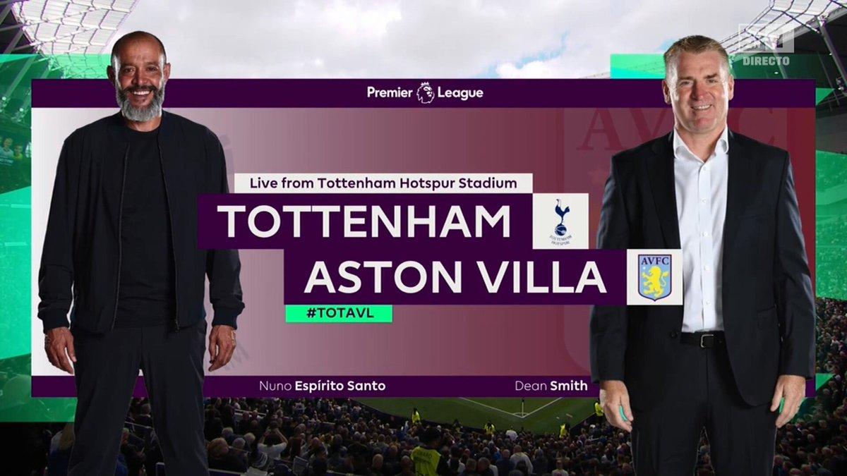 Full match: Tottenham Hotspur vs Aston Villa