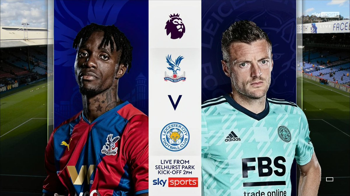 Full match: Crystal Palace vs Leicester City