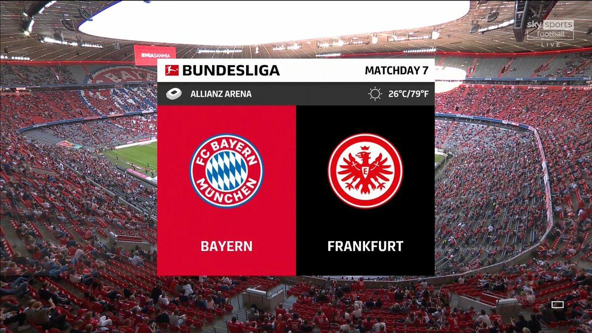 Full match: Bayern Munich vs Eintracht Frankfurt
