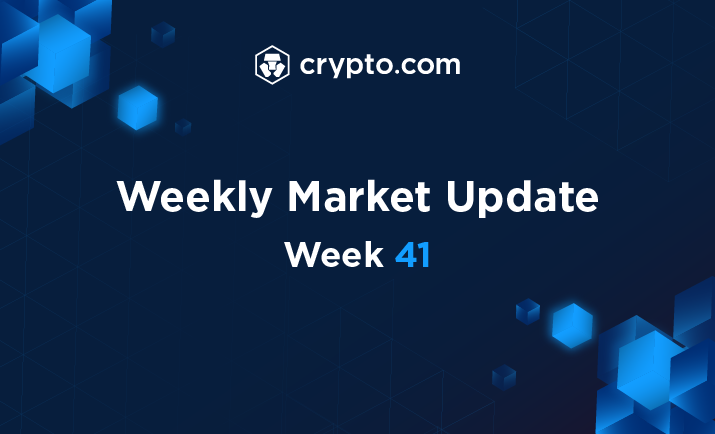 The Crypto.com Weekly Market Update: 📊 Price and volume indices up, volatility index down 📈 Top 3 index gainers: $DOT (+16.48%), $XLM (+11.24%), $BTC (+10.35%) 🐕 @elonmusk makes $DOGE news, wants to extend life to mars🪐 The details 👇🏻 crypto.com/research/artic…