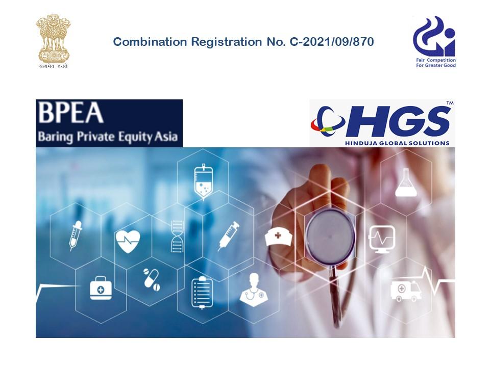 सीसीआई ने बेटाइन बी. वी. द्वारा हिंदुजा ग्लोबल सॉल्यूशंस की हेल्थकेयर बीपीओ सेवाओं के अधिग्रहण को स्वीकृति दी