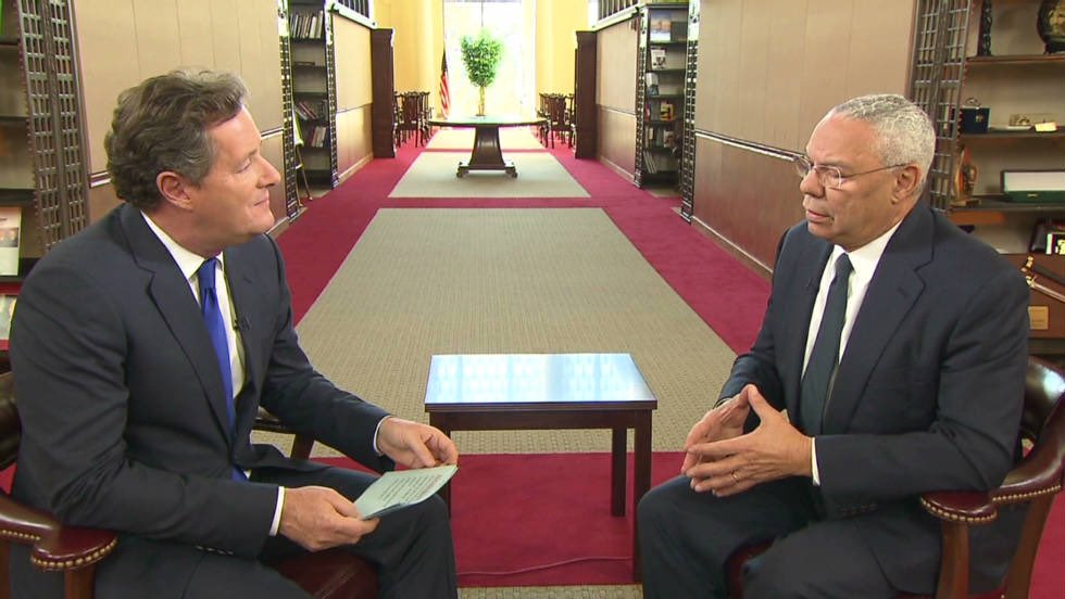 General Colin Powell once showed me his personal 'life rules' chart that he took everywhere. It included: 'Get mad, then get over it. Share credit. Remain calm. Be kind. Have a vision. Be demanding.' They seem like pretty damn good life rules to me. What a great man.